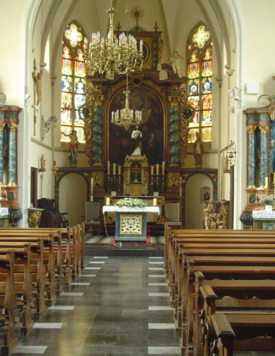 Blick auf Langhaus und Chor
