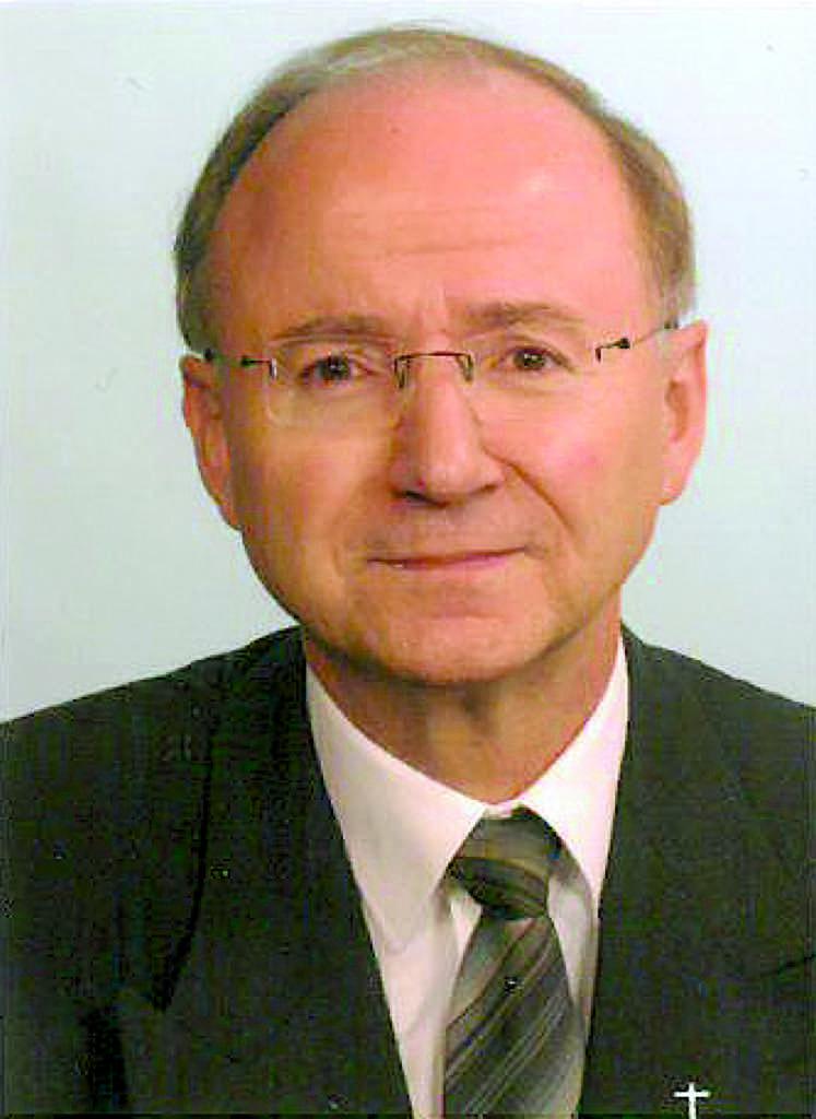 Pastor Heribert Krieger